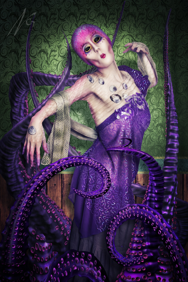Dec 02, 2011 Nikita - Freak Alternative Photographics Lady Octopus (Model/Photographer: Nikita Gushue MUA - Special FX: Hannah Gushue)