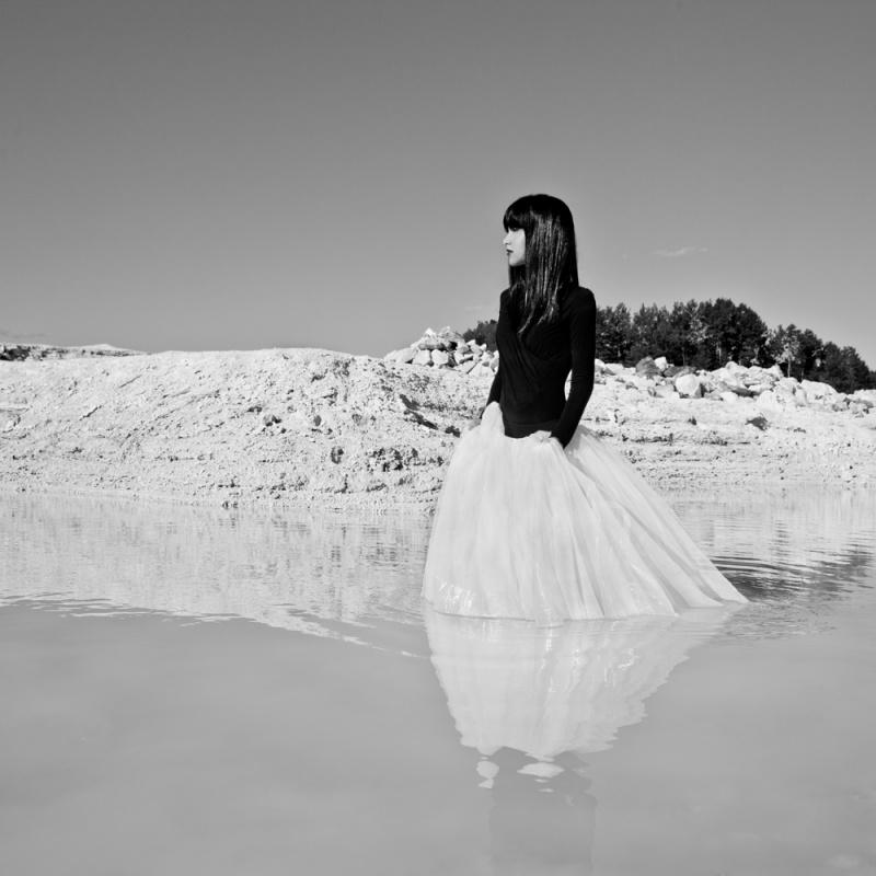 Female model photo shoot of Mademoiselle k