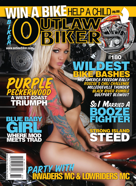 Los Angeles Ca Dec 04, 2011 Isaac Madera Fine Art Photography Outlaw Biker Issue #180