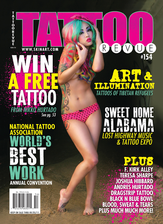 Victorville Ca Dec 04, 2011 Isaac Madera Fine Art Photography Tattoo Revue Issue #154