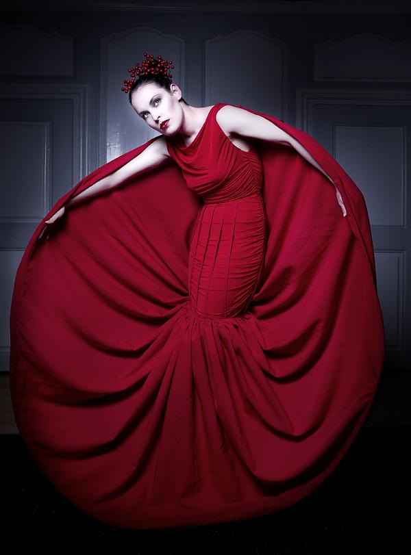 Gruyére, Switzerland Dec 04, 2011 Photography: Annie Bertram / Fashion: Angélique Lang