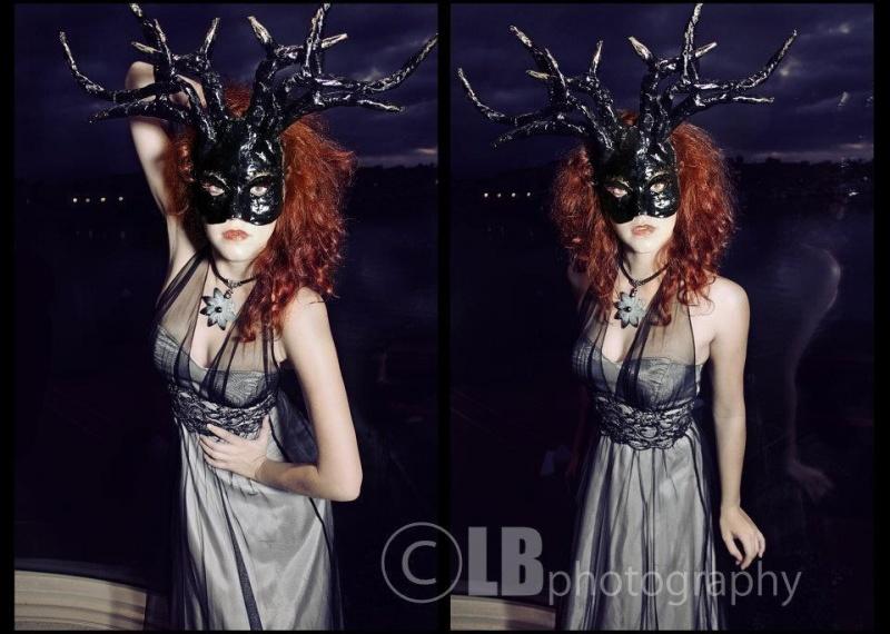 Female model photo shoot of Nemecia