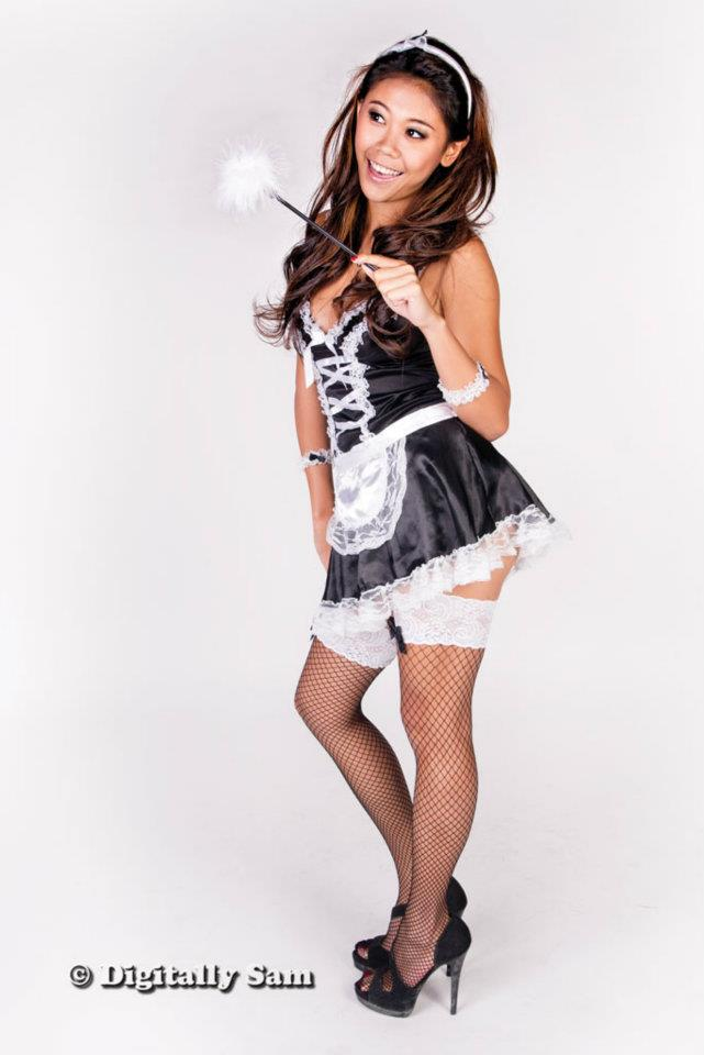 Dec 05, 2011 Digitallysam & Nickole Lau The French Maid