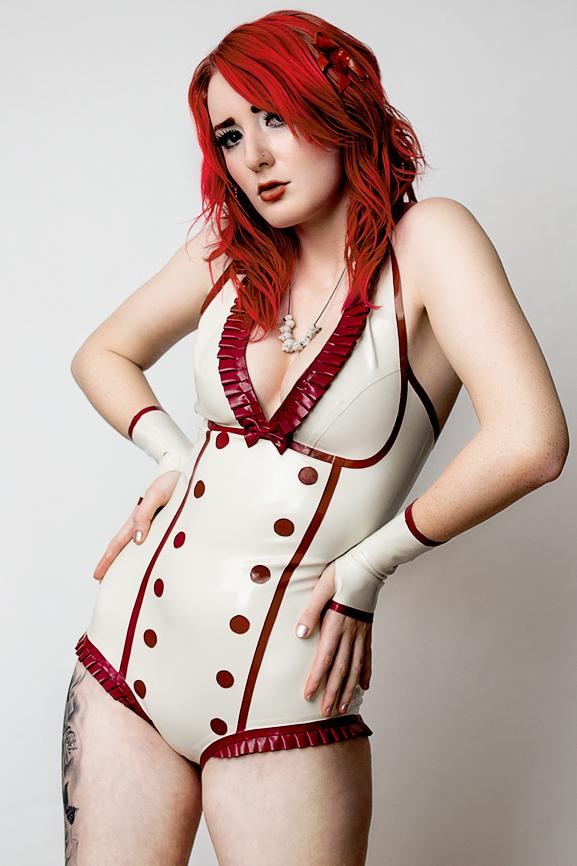 Dec 05, 2011 Violaceous Latex John McIntire Photography Vivienne Westwood Necklace