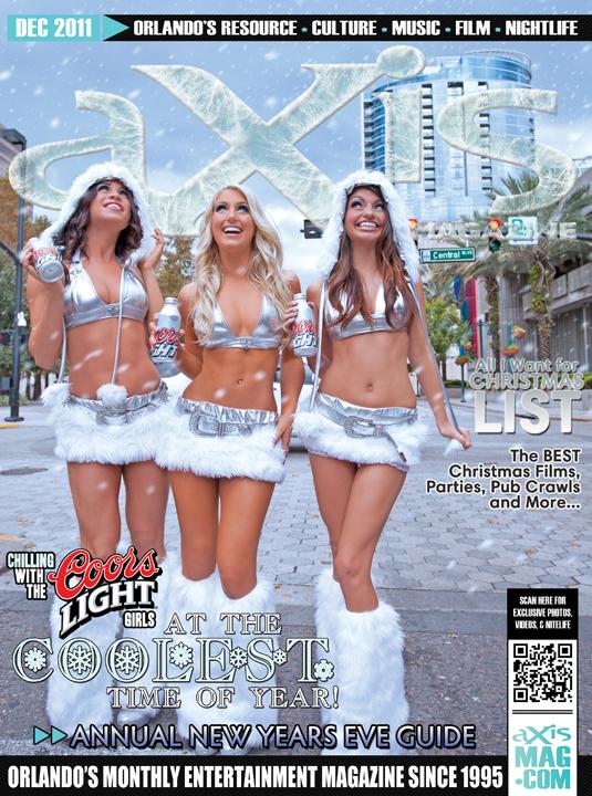 Downtown Orlando, FL Dec 07, 2011 aXis Magazine Cover - December 2011
