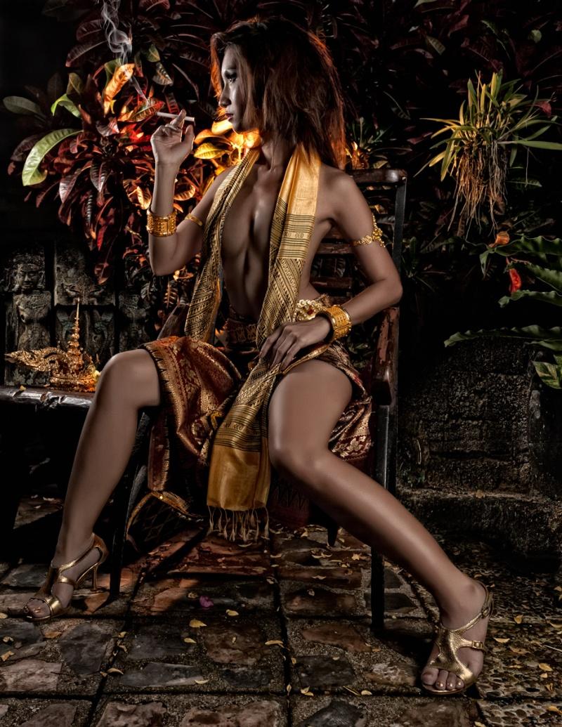 Female model photo shoot of somrutai sreenak by Daryn LaBier in Bnagkok