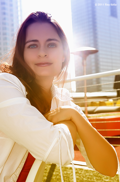 Female model photo shoot of PuzzleBox by Ray Ibita Photography