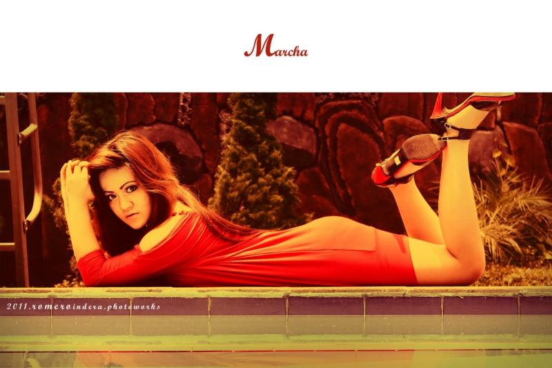 Female model photo shoot of marsha ghia