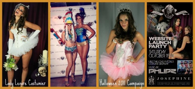 Dec 11, 2011 LadyLenore.com Web Catalog & Events sampler