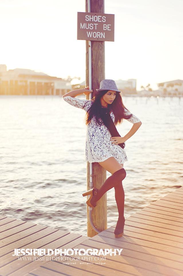 Female model photo shoot of Jessi Field