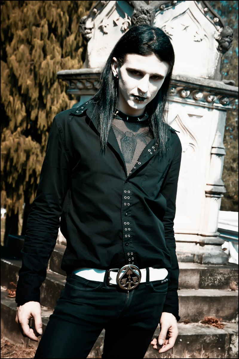 Male model photo shoot of thirteen13thirteen by Beamo Photography in toowong cemetery