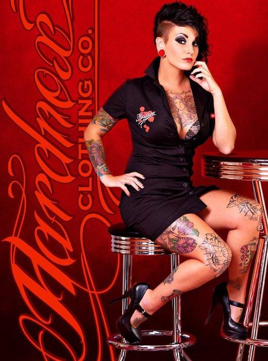 Hampton, VA Dec 14, 2011 Angie Garfield Hardnox Clothing Company