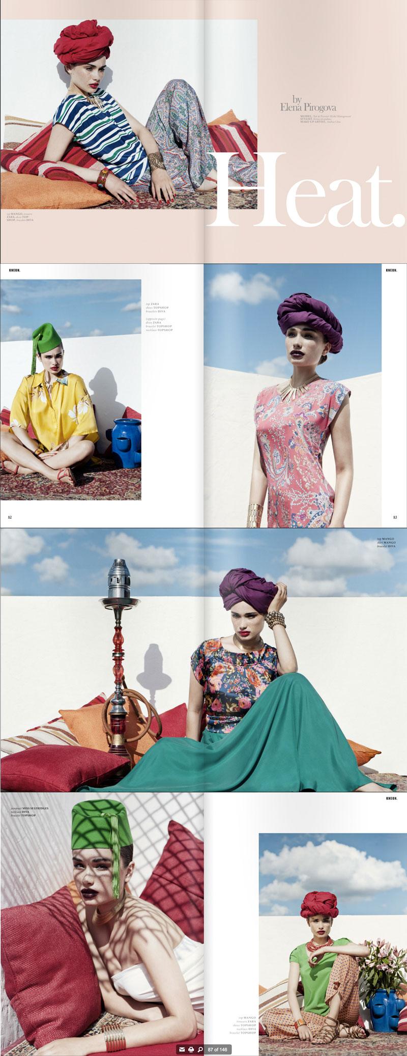 Dec 15, 2011 Elena Pirogova HEAT, KNEON magazine
