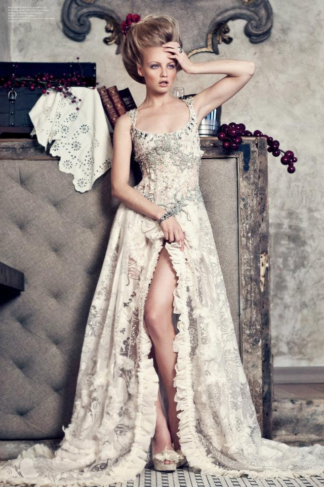 Dec 15, 2011 Dress by Leonid Gurevich. Photographer Alena Soboleva