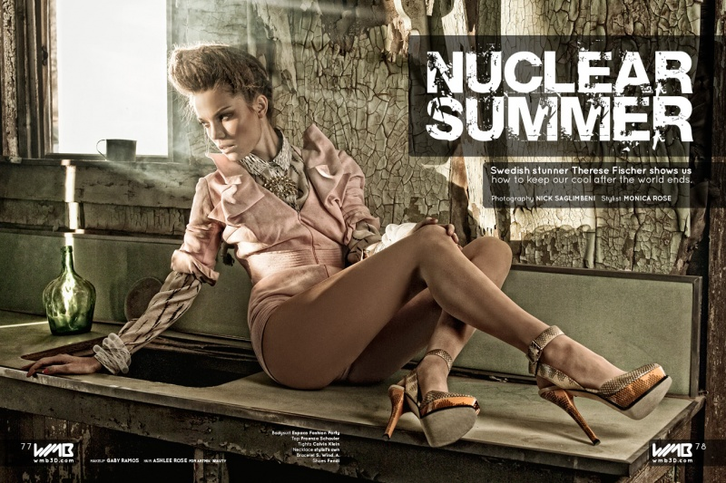 Lancaster, CA Dec 17, 2011 Nick Saglimbeni Nuclear Summer (WMB 3D - Volume 1)
