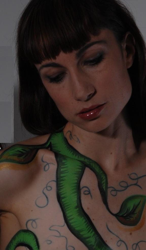Studio Dec 18, 2011 HD Photo Tours Body Painting