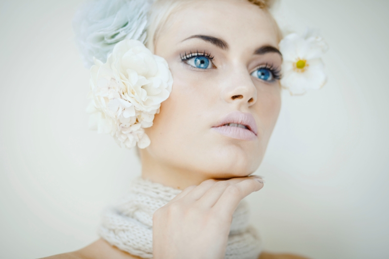 Female model photo shoot of Cara hair and make up
