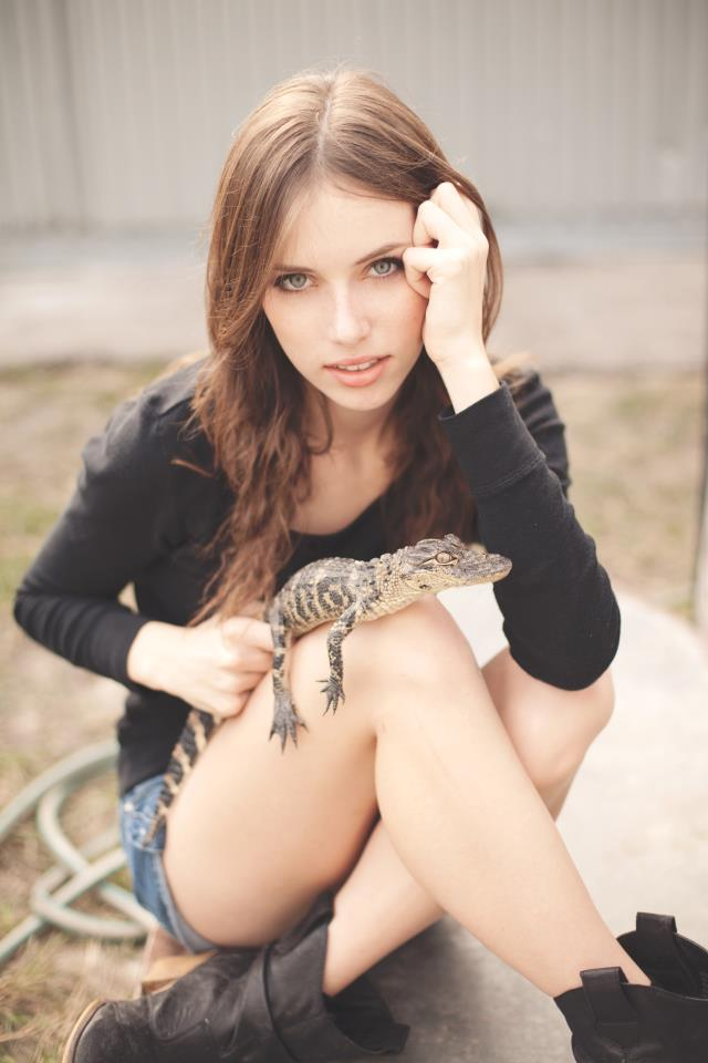 Dec 20, 2011 Photo by Mike Schalk :) Alligator courtesy of me