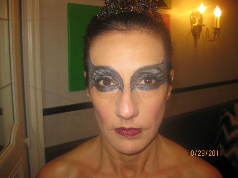 Shorewood, WI Dec 22, 2011 Black Swan mask
