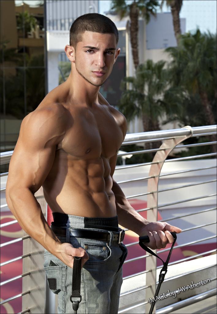 Male model photo shoot of Matthew Corso in Vegas