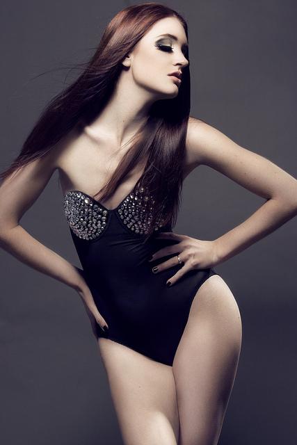Dec 22, 2011 http://www.etsy.com/listing/66420240/sale-sheer-black-strapless-bodysuit-with