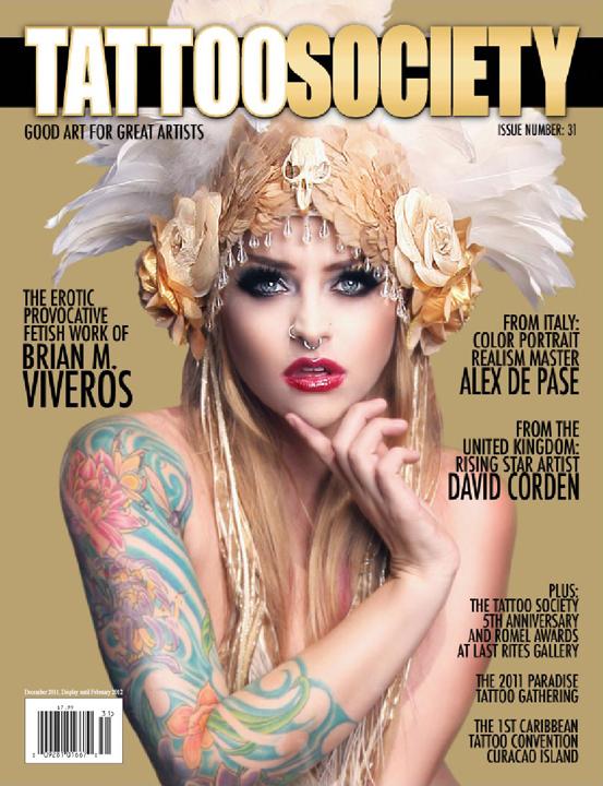 Hesperia Ca Dec 22, 2011 Isaac Madera Fine Art Photography Tattoo Society Issue #31