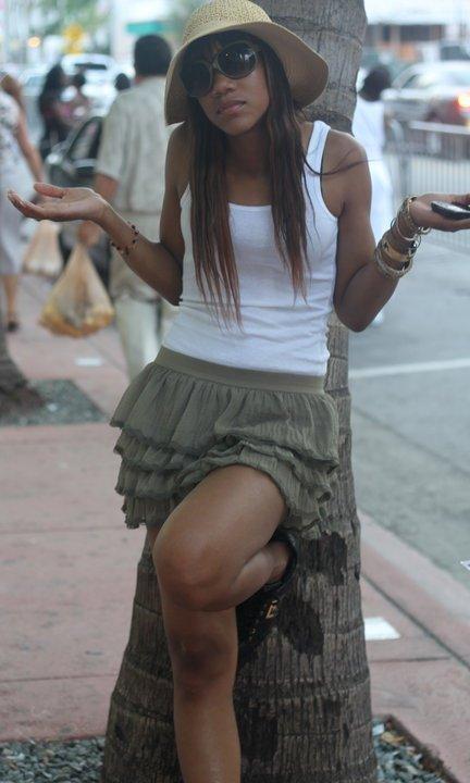 Female model photo shoot of Daishaya in Miami