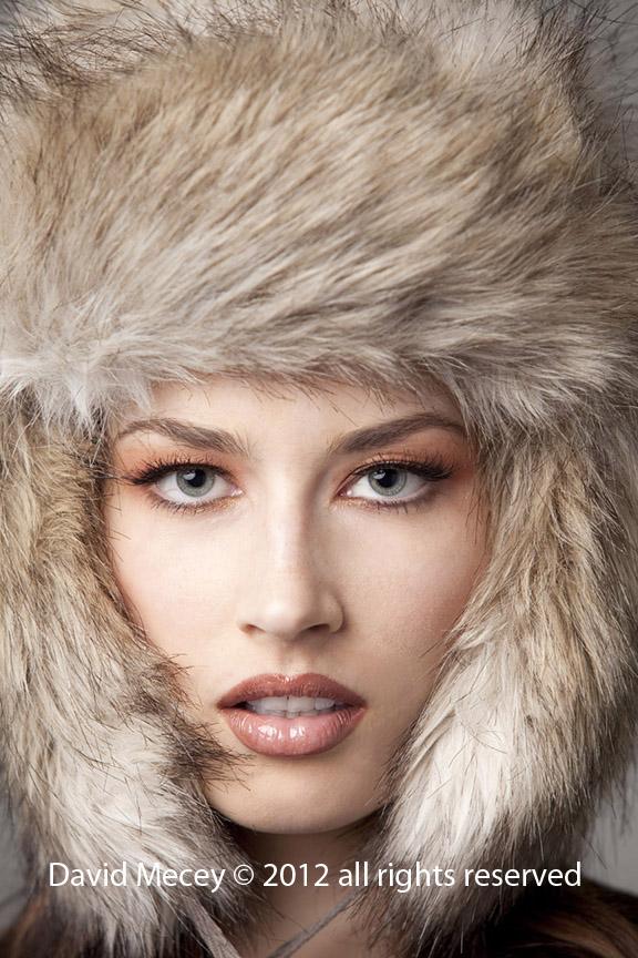 LA California Dec 25, 2011 David Mecey 2012 Fur Hat