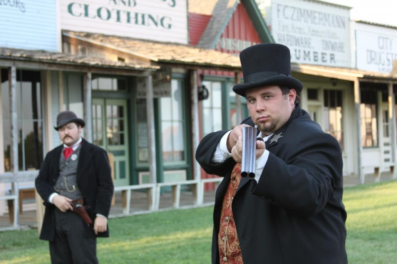 Male model photo shoot of Josh R Photography in Boot Hill Museum Dodge City