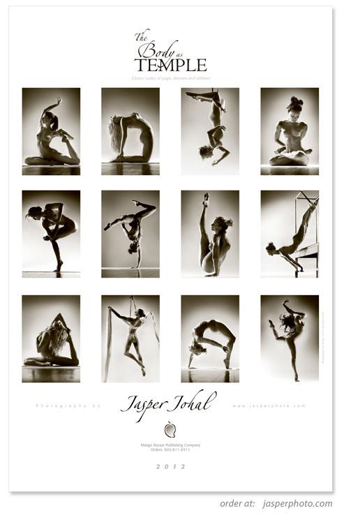 Dec 26, 2011 © Jasper Johal MMXII Back cover of 2012 calendar, showing the images inside.