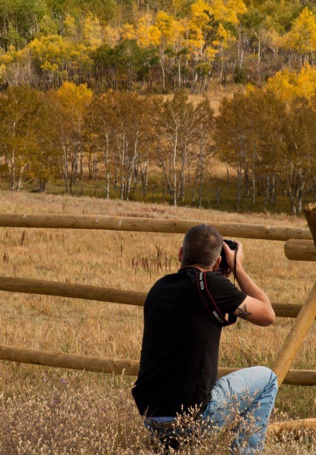 Male model photo shoot of Paul Fetters in Estes Park, CO