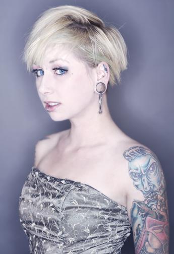 Female model photo shoot of Graelston and The Original Oktane by jmyersphoto
