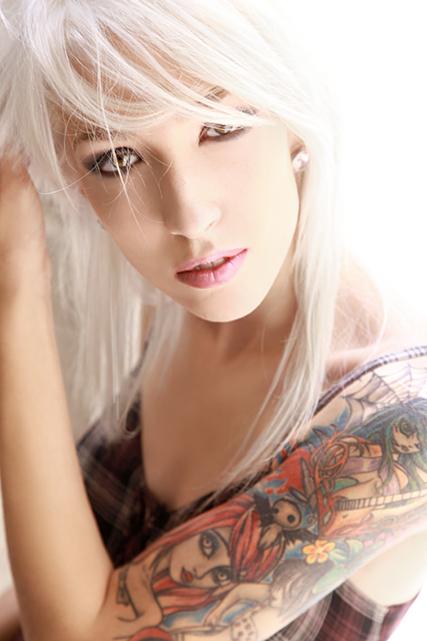 Female model photo shoot of Macdie in montreal
