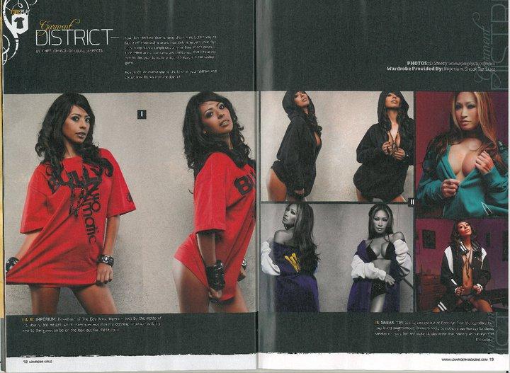 Dec 28, 2011 Girls of Lowrider Fashion Spread March 2011