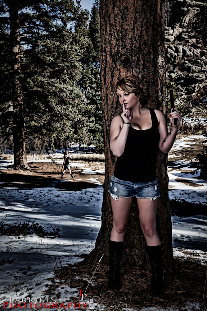 Female model photo shoot of ErynKaye by Larrikin Photography