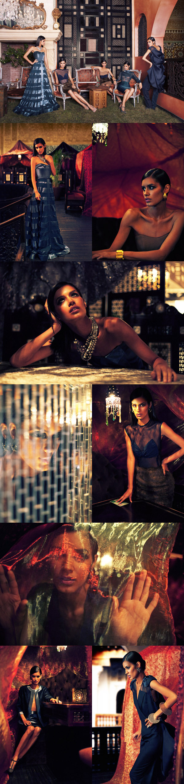 Clothing and styling by Celestino Dec 29, 2011 Morocco Girl (Jaslene Gonzalez - ANTM)