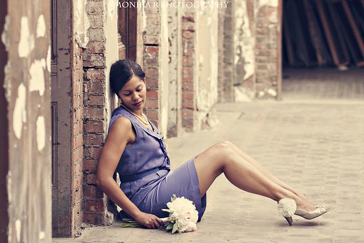 Female model photo shoot of Monika R Photography in Downtown Manhattan, Brooklyn Bridge area