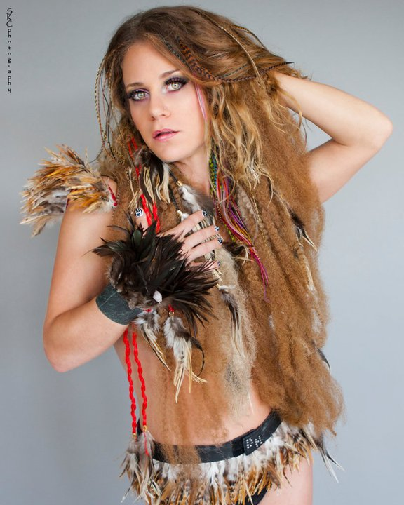 Female model photo shoot of Feathers Divine in Ft Lauderdale