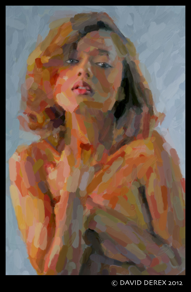 Jan 01, 2012 David Derex DEREX Fusion:  Mixed-Media Portrait Painting