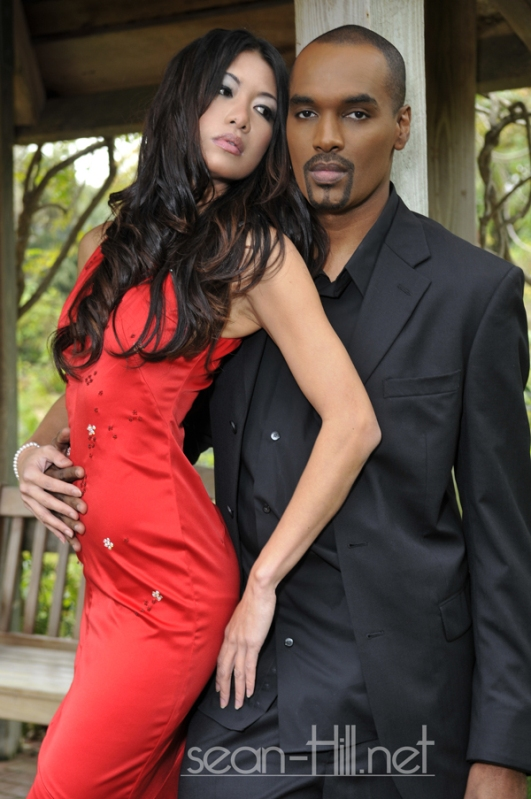 Male and Female model photo shoot of Sean Hill aka Papasean and Mai DANG by Annette Batista in FL