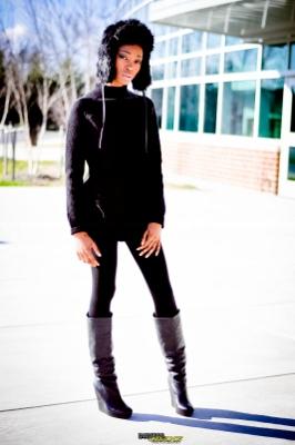 Female model photo shoot of Natavia by Digital Crane  in Laurel High School