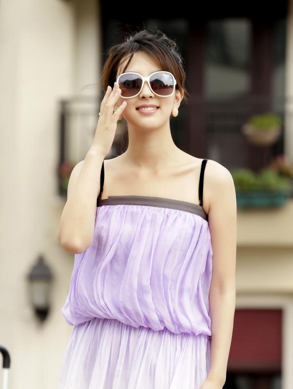 Female model photo shoot of shuanger in China