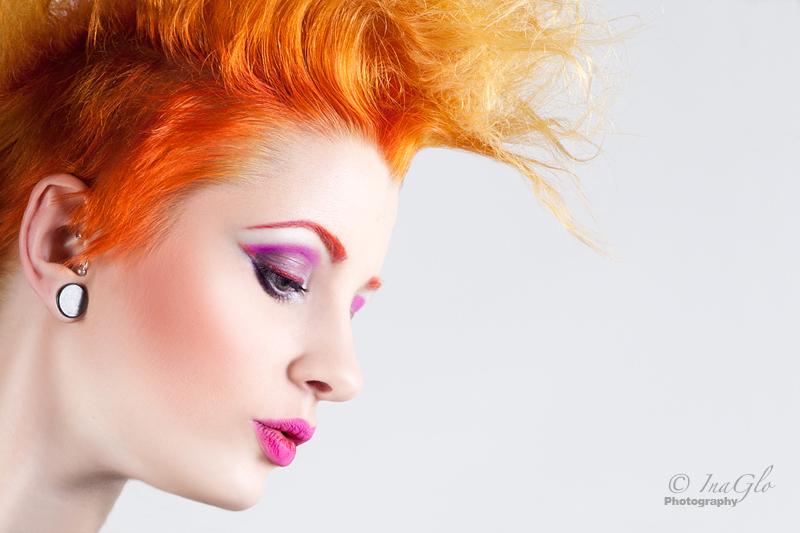 Female model photo shoot of InaGlo