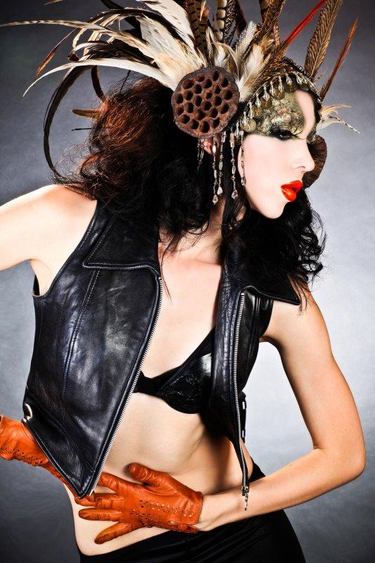 Los Angeles Jan 07, 2012 RYDER make-up labs LLC / James Ryder Workshop Photo - Student Work