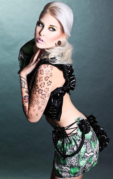 Los Angeles Jan 07, 2012 James Ryder Model: Laura Sullivan Designer: KMS Couture Photographer: James Ryder Mua: J. Anthony Martinez...