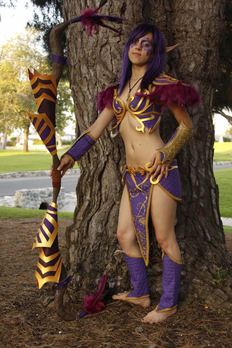 Fountain Valley, CA Jan 07, 2012 Night Elf