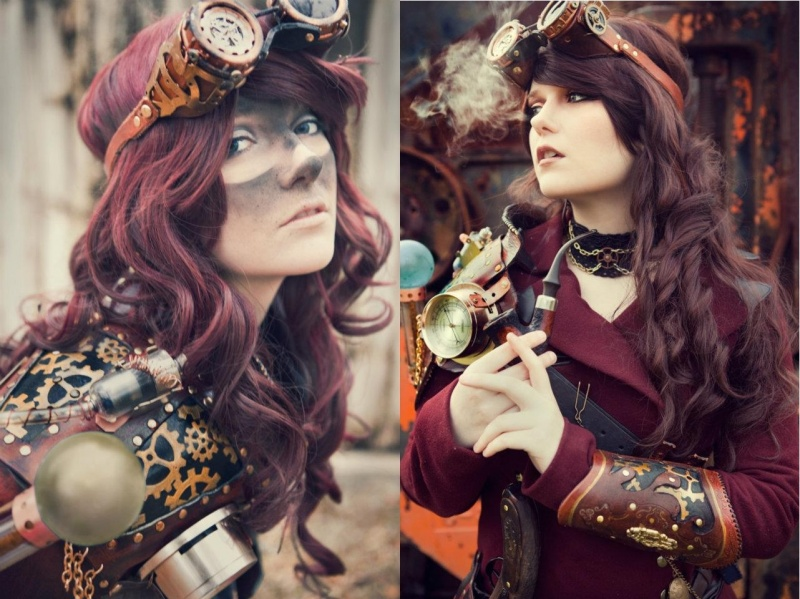 West Columbia, Texas Jan 08, 2012 Accessories and Styling by Celestial Rogues, Fashion by Melancholic Design, and Photography by Julia Cooper Steampunk Fashion
