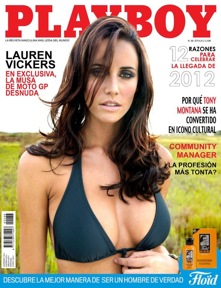 Barcelona, Spain Jan 09, 2012 Pau Palacios, Playboy Spain Excellent start to 2012!  Playboy Spain January Cover and Feature :)