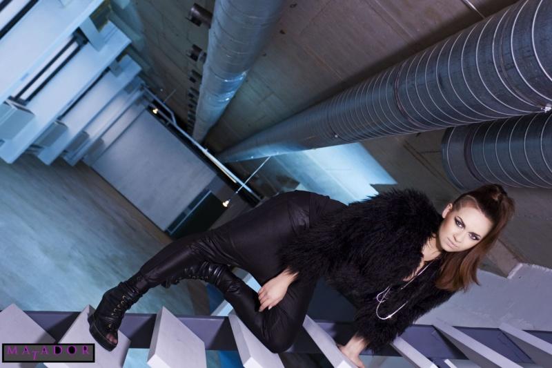 Female model photo shoot of El Toro Matador