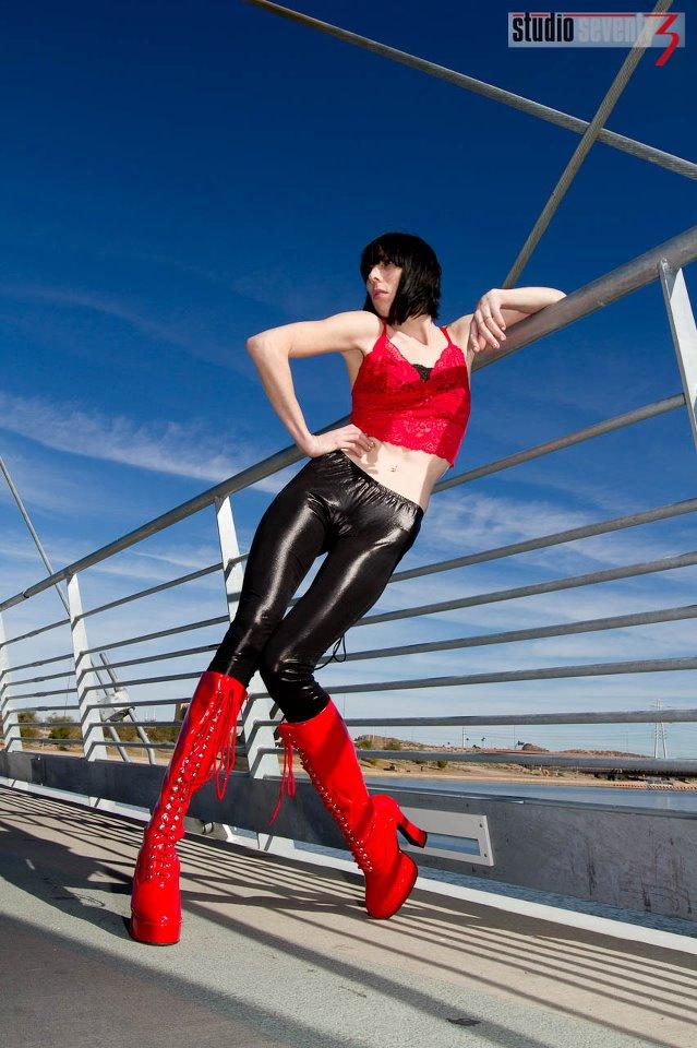Female model photo shoot of Teresa Myers by Dave Kelley Artistics